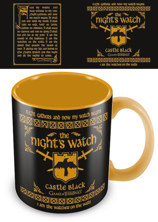 Šolja XL GAME OF THRONES The Nights Watch