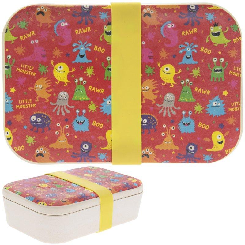 Kutija za užinu BAMBOO ECO MONSTER