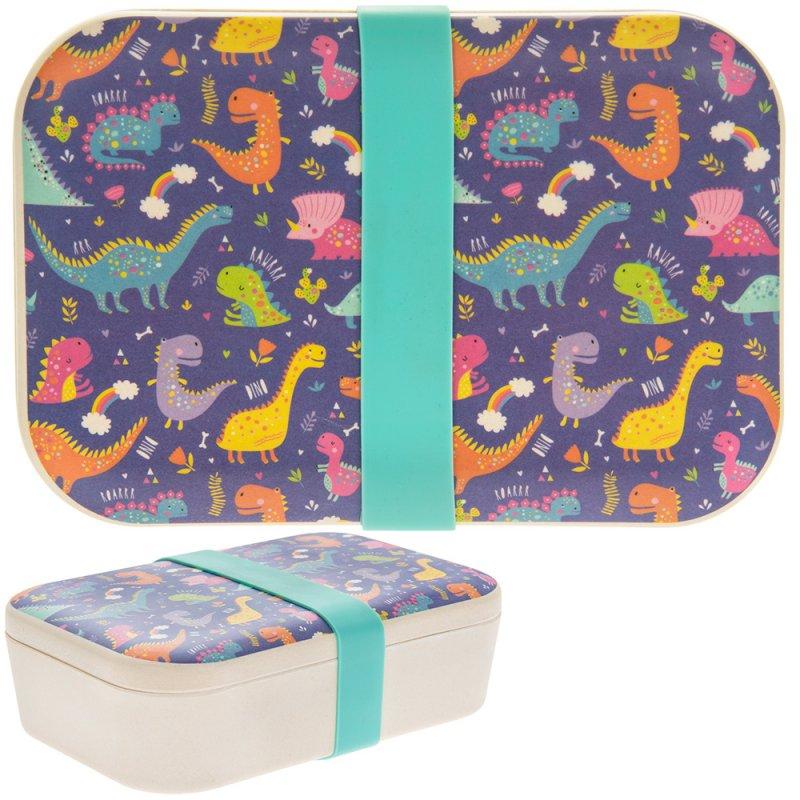 Kutija za užinu BAMBOO ECO DINOSAUR