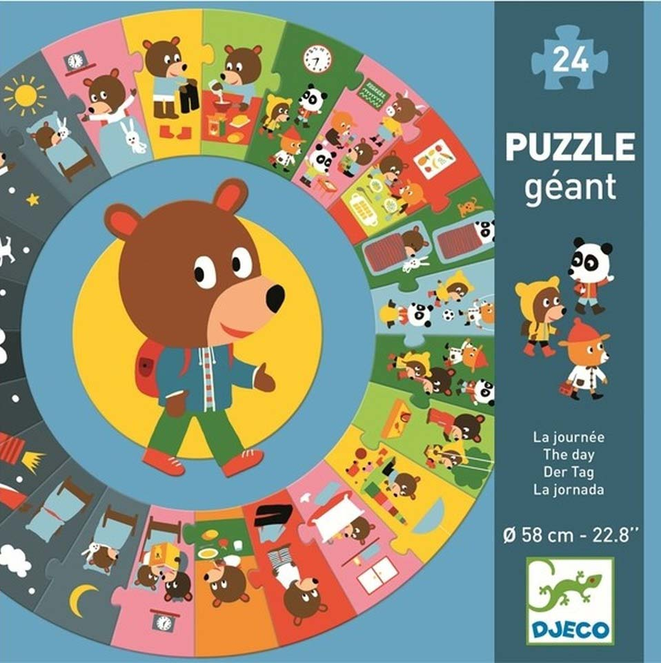 GIANT PUZZLE GIANT THE DAY