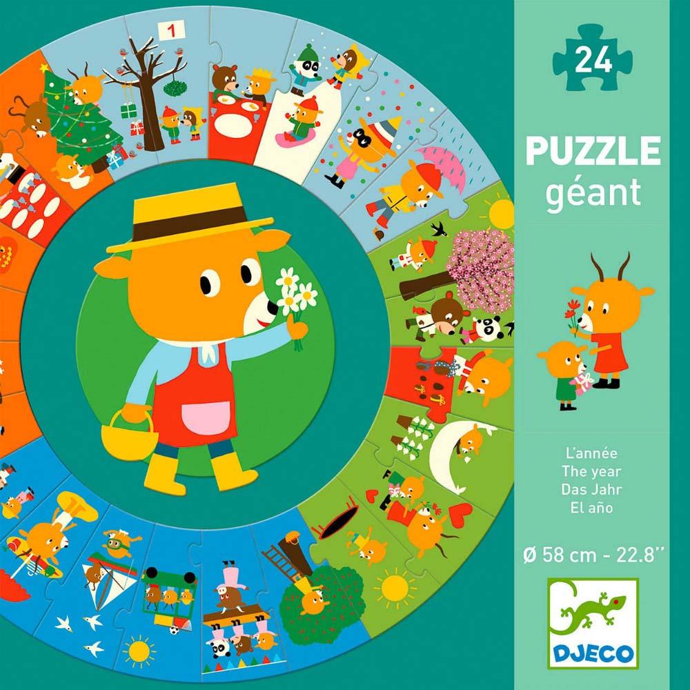 Puzzle za decu THE YEAR 24