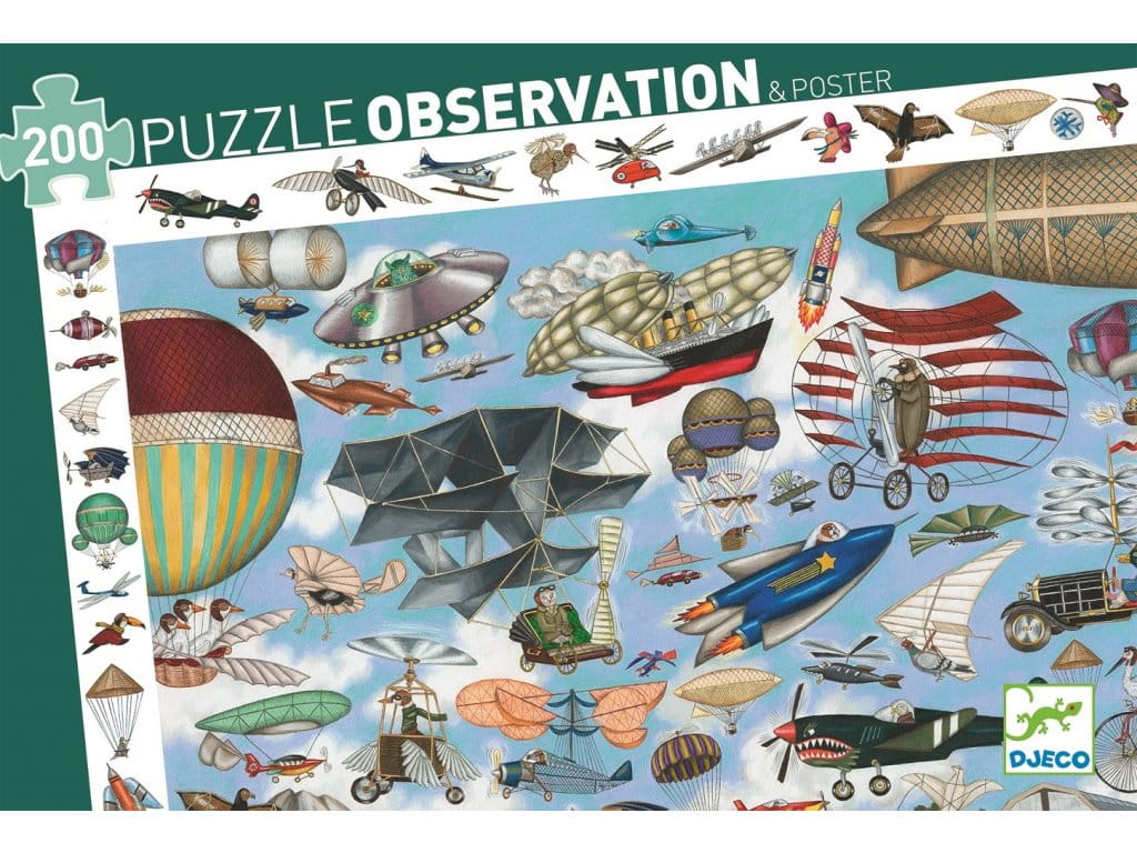 Puzzle za decu AERO CLUB 200