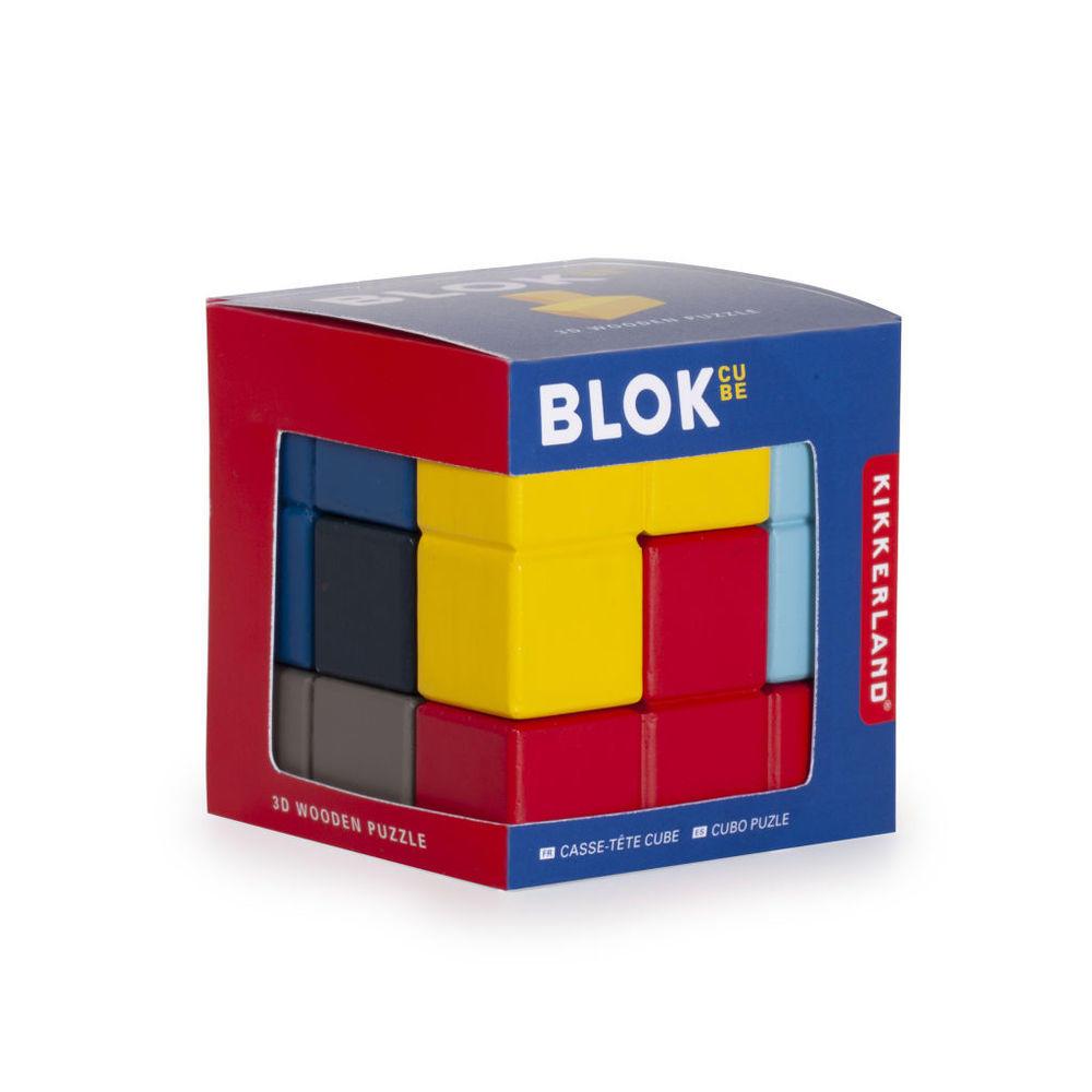 3D Drvene puzle - Kocka