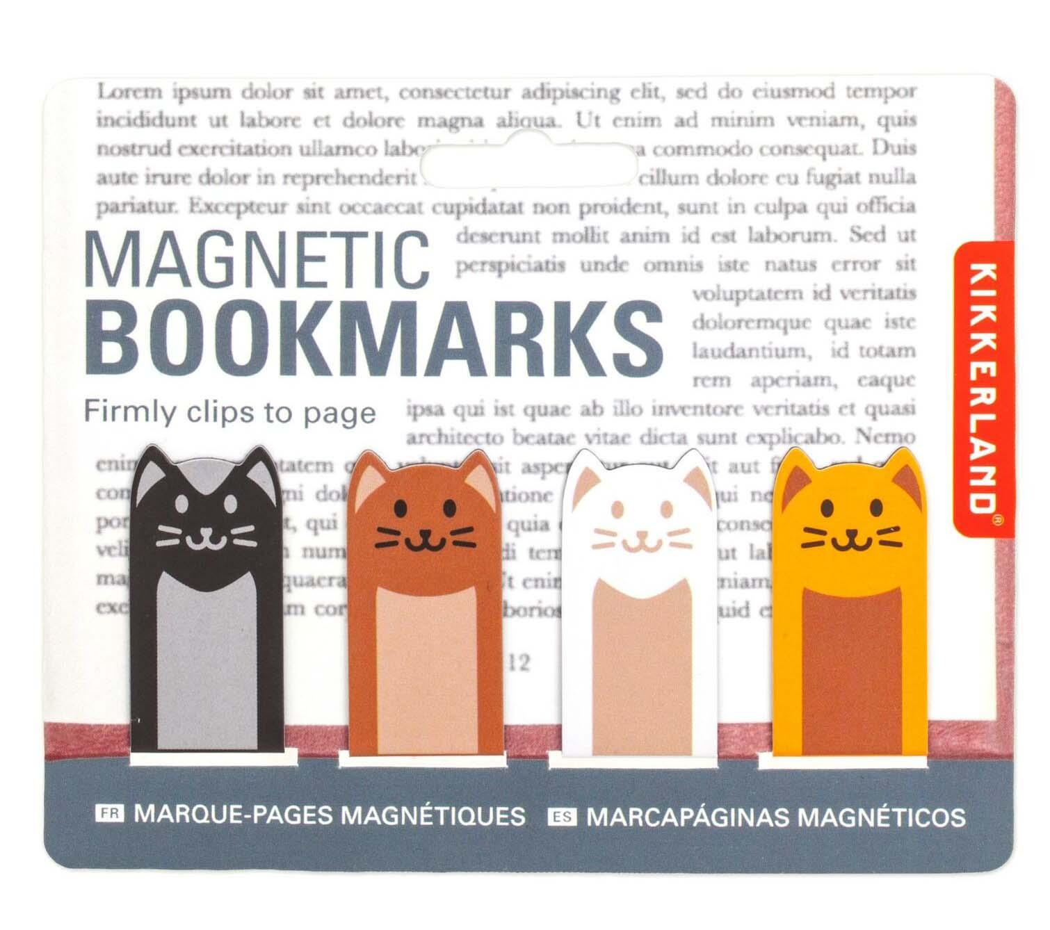 Magnetni obeleživač za knjige - mačke
