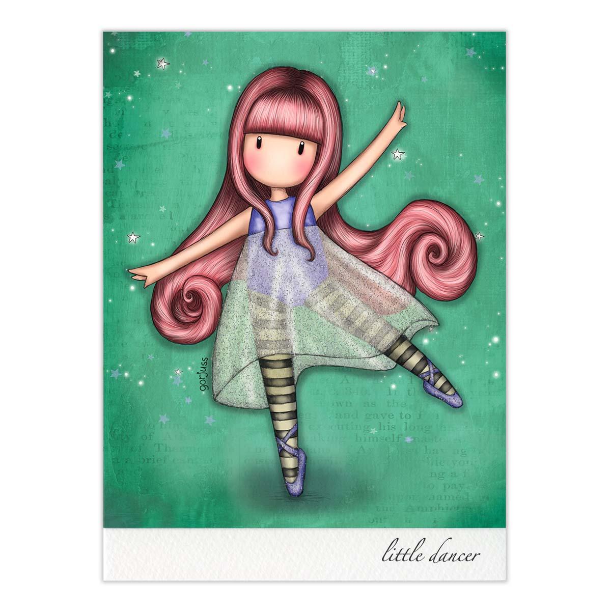 Čestitka GORJUSS Little Dancer