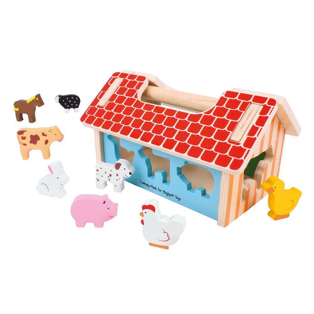 Drvena igračka FARMHOUSE SORTER