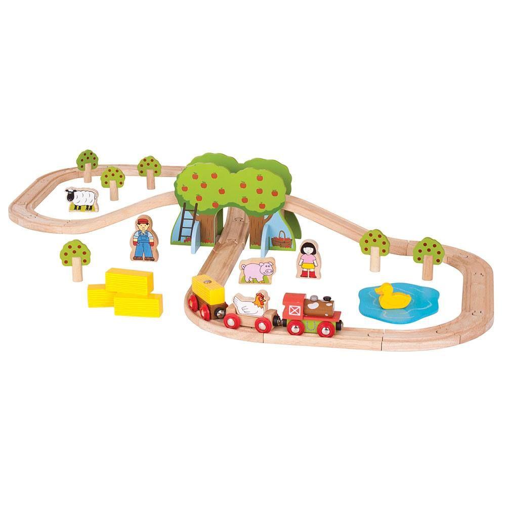 Drvena igračka FARM TRAIN