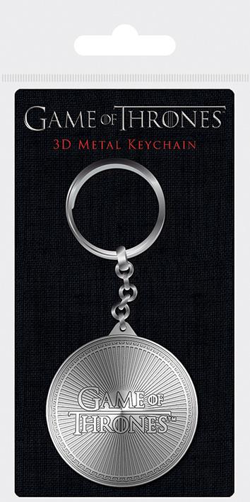 Privezak za Ključeve GAME OF THRONES LOGO METAL KEYCHAIN