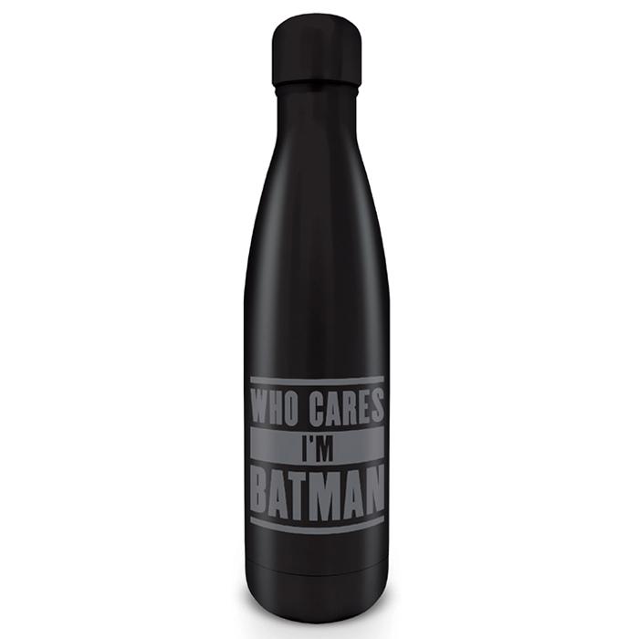 Flaša za vodu WHO CARES IM A BATMAN
