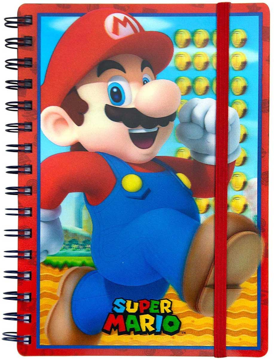 SUPER MARIO 3D NOTEBOOK CDU 10