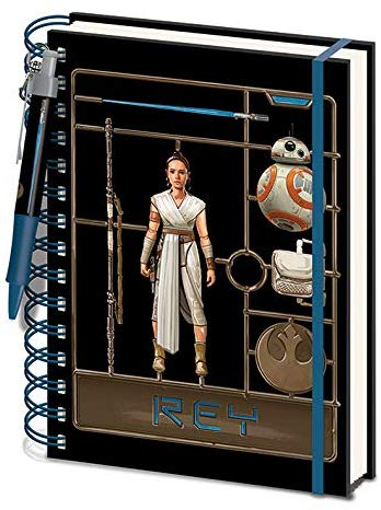 Notes A5 STAR WARS The Rise of Skywalker (Airfix Rey)