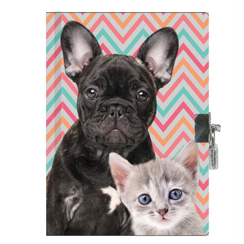 Notes A5 sa katancem DOG & CAT