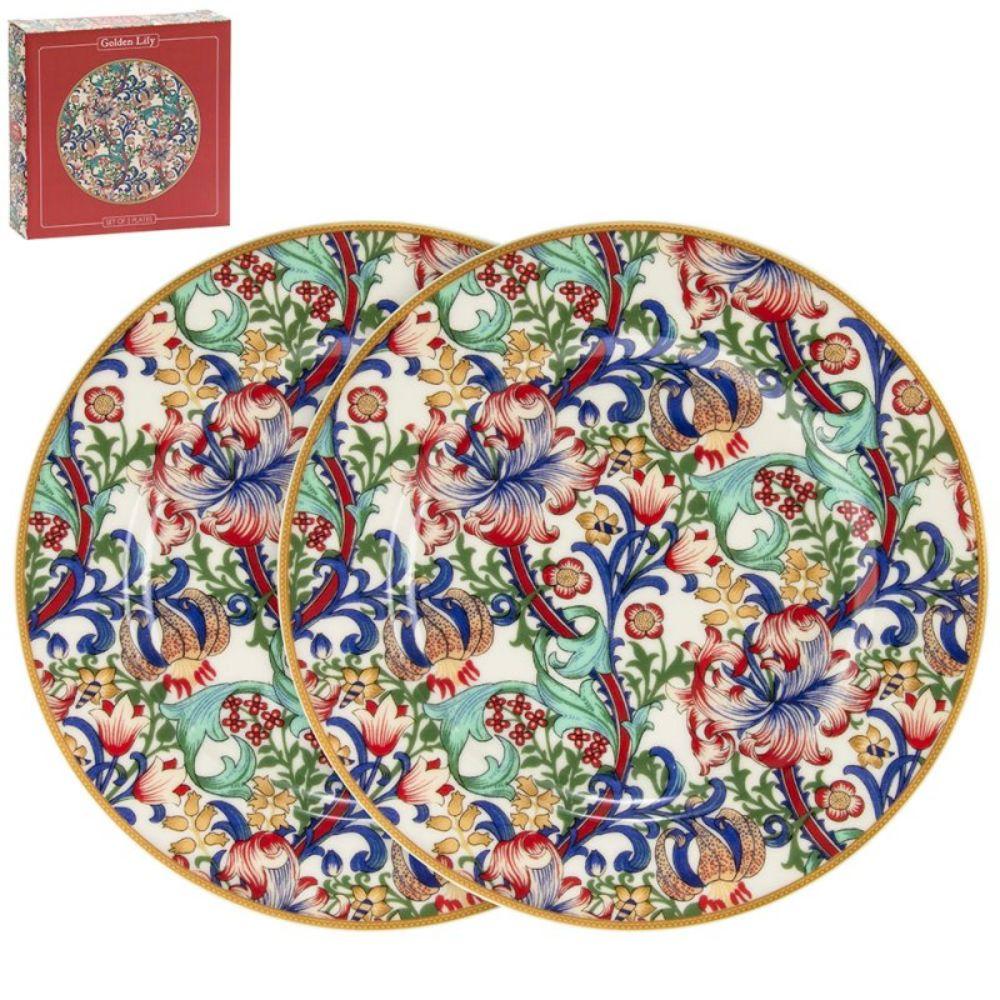 Set od dva tanjira GOLDEN LILY