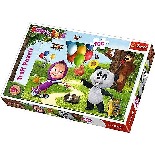 PUZZLES 100 MASHA AND FRIENDS ANIMACCORD MASHA AND THE BEAR