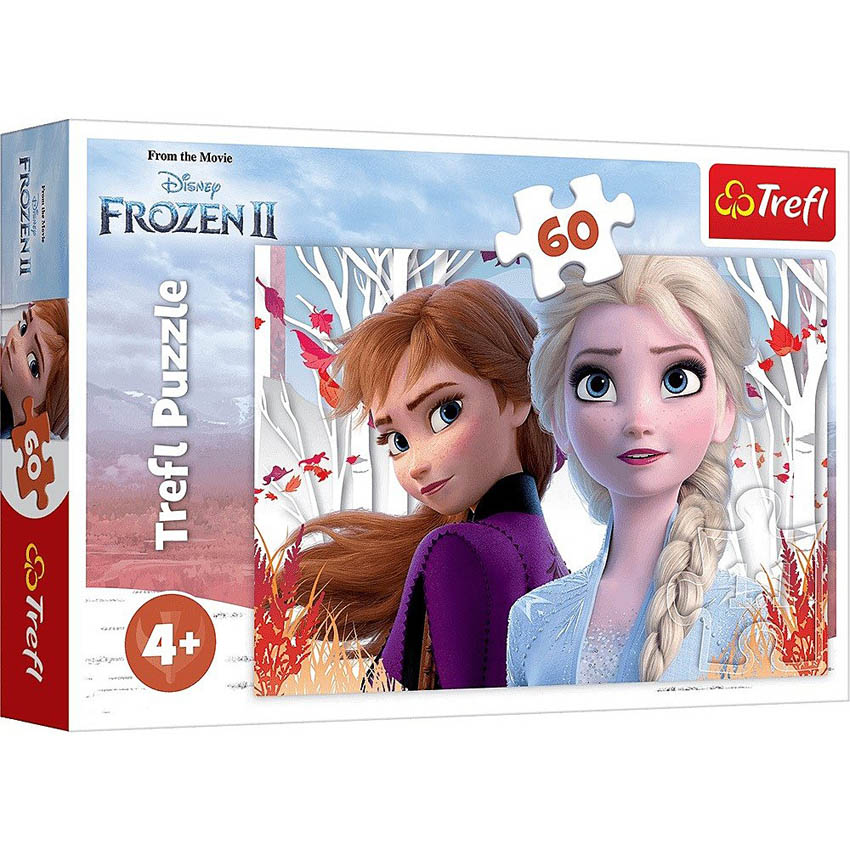 Puzzle TREFL Frozen 2 The Enchanted World Of Anna & Elsa 60