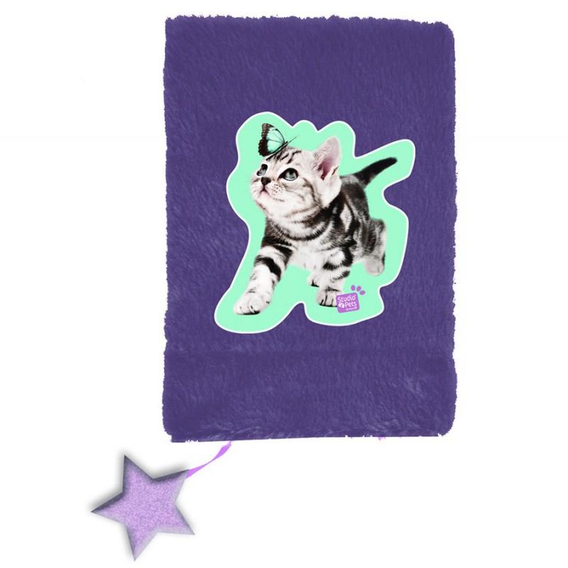 Plišana sveska - Studio Pets (Cat)