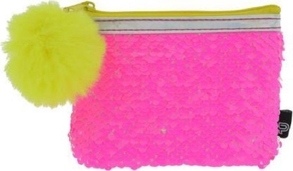Novčanik roze boje: NF LITTLE PURSE SEQUINS NEON