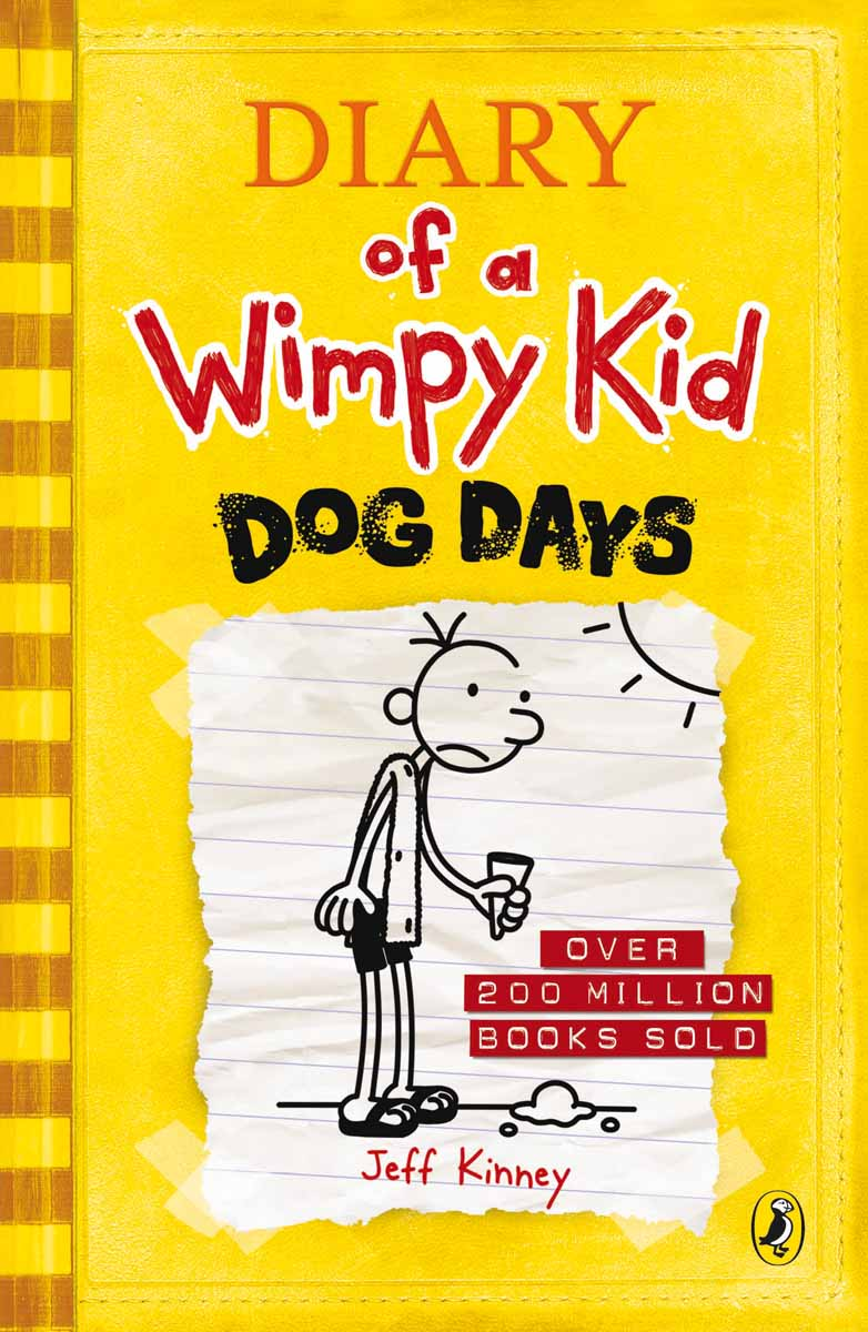 DOG DAYS Diary of a Wimpy Kid book 4