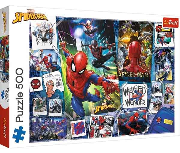 Puzzle POSTERS WITH A SUPERHERO 500 kom