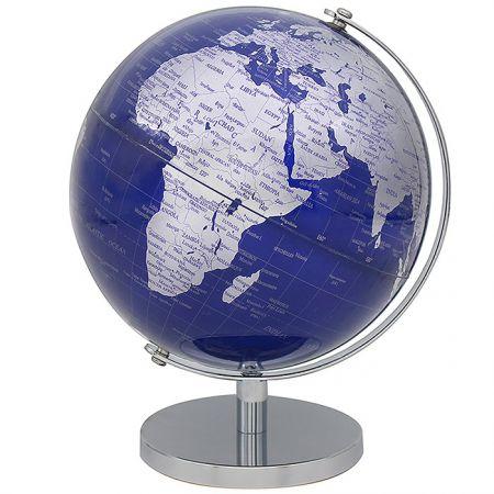 Globus SILVER & BLUE 19.5cm