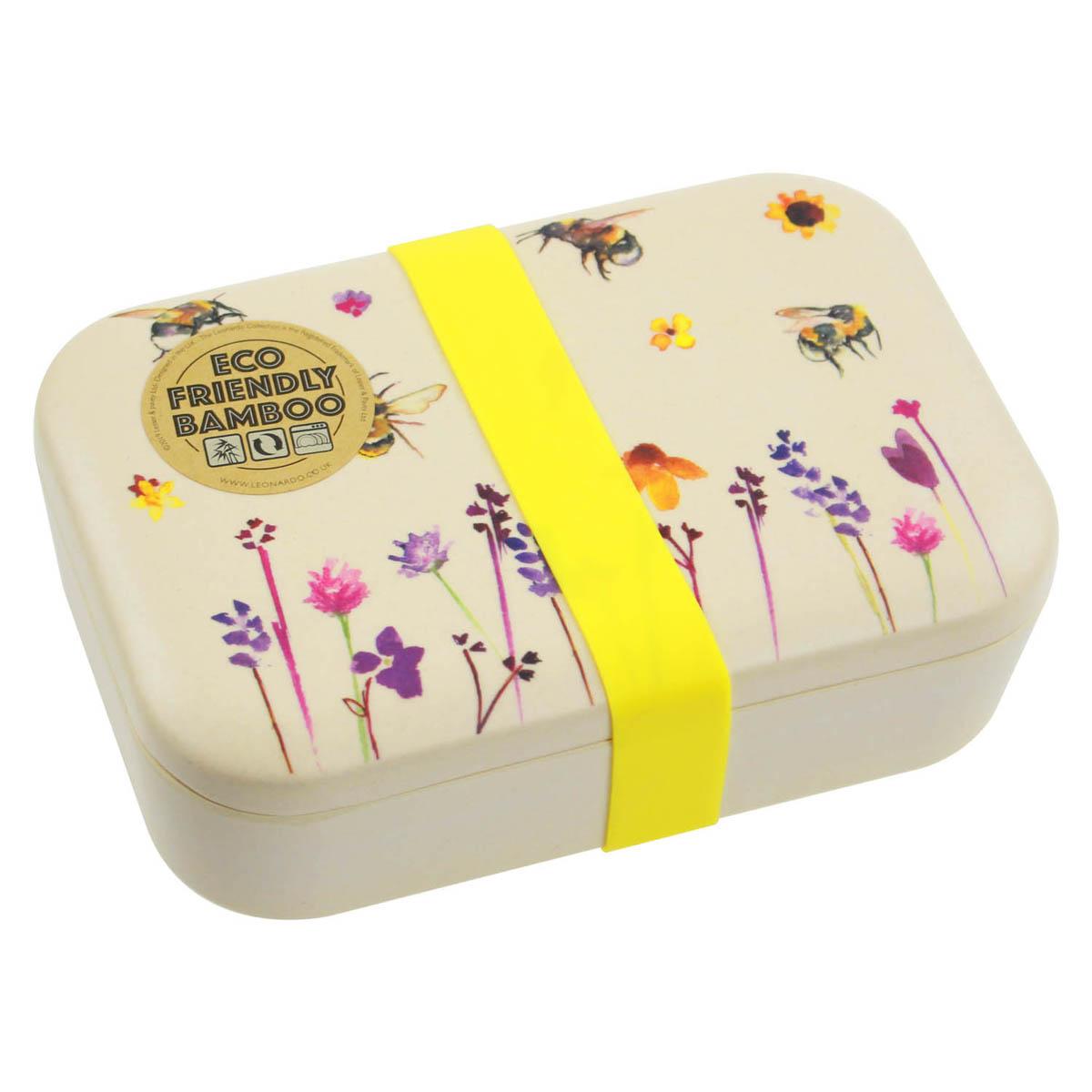 Kutija za užinu BAMBOO ECO LUNCH Bees