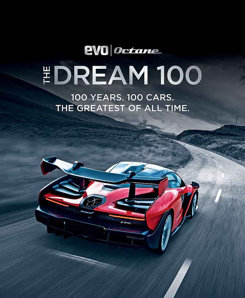 THE DREAM 100 years 100 cars The greatest of all time