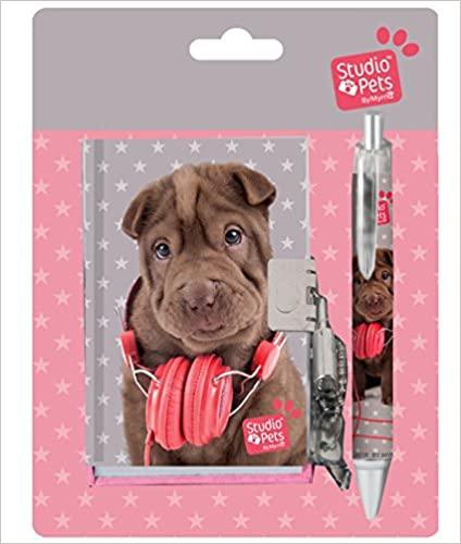 Set - dnevnik i hemijska olovka : PETS