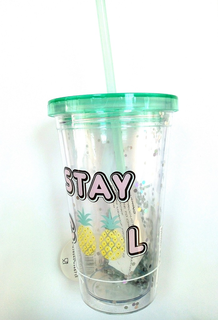 INSULATED CUP W STRAW