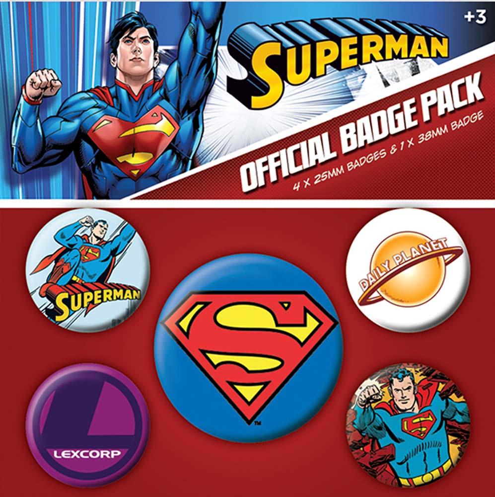 Supermen bedževi