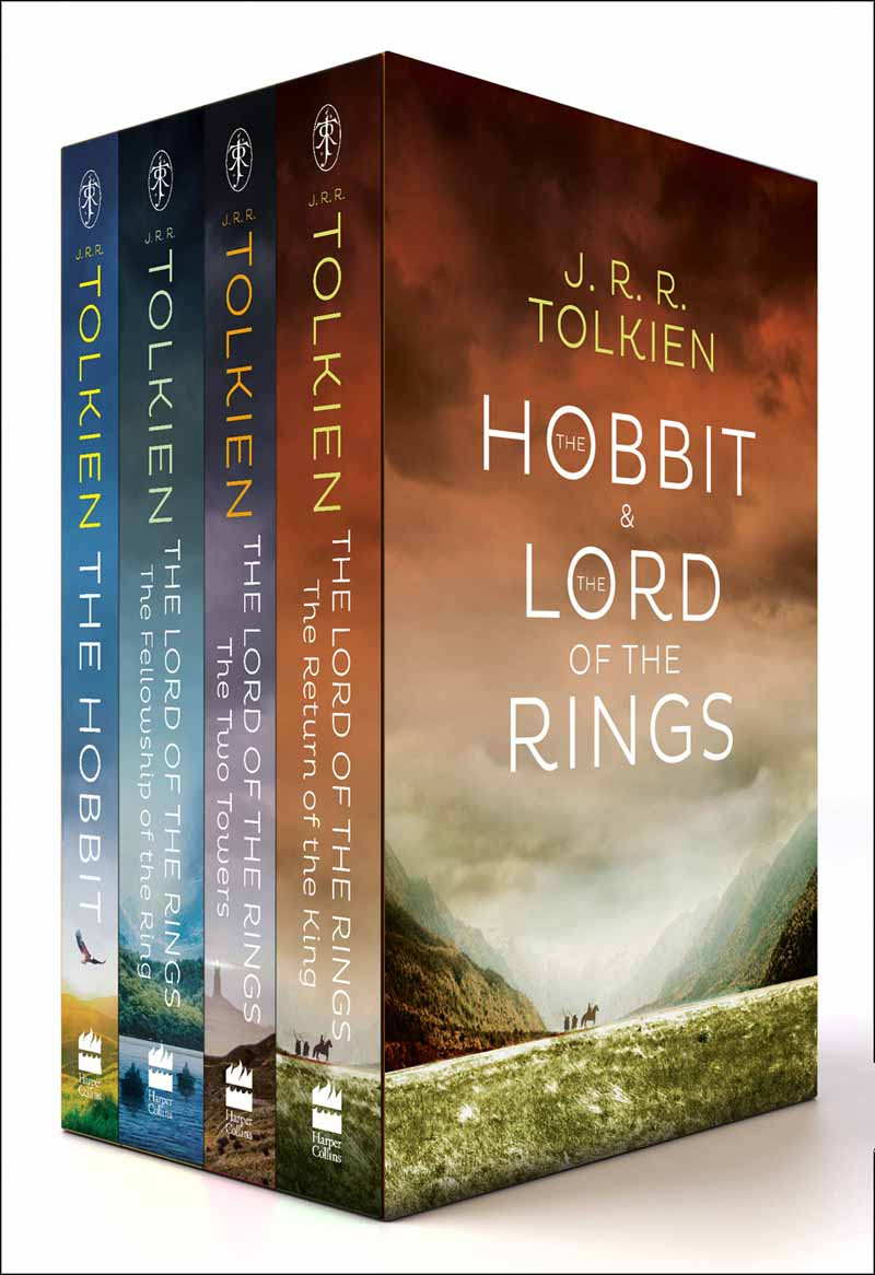 THE HOBBIT AND THE LORD OF RINGS BOXED SET