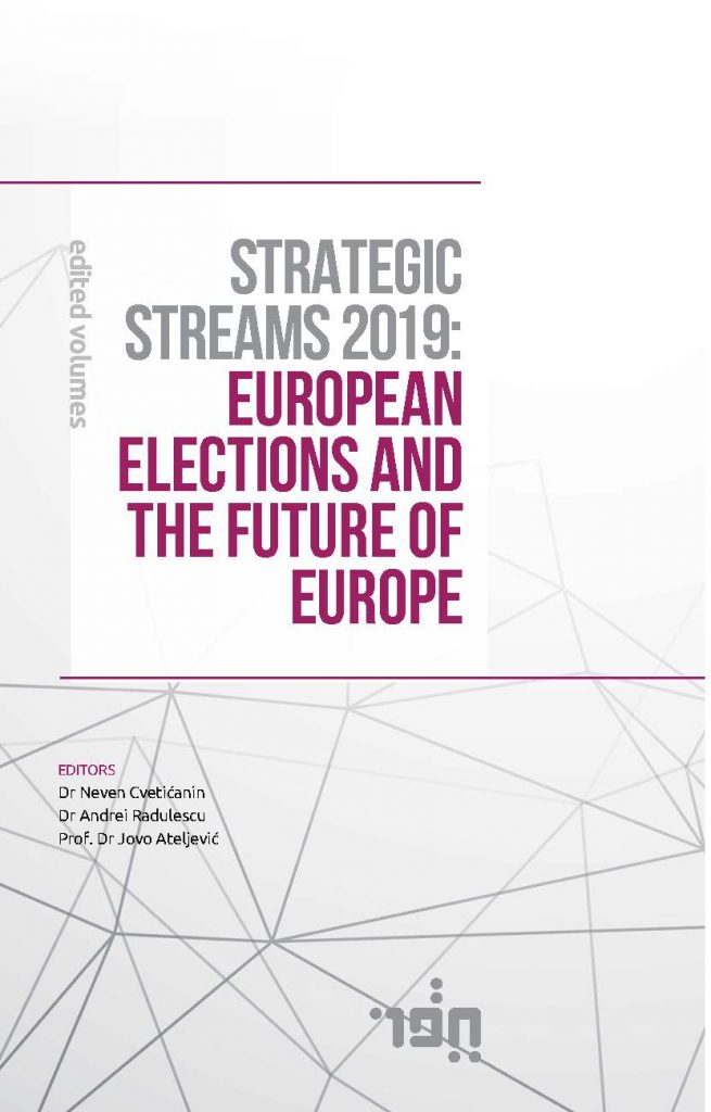 STRATEGIC STREAMS 2019-EUROPEAN ELECTIONS AND THE FUTURE OF EUROPE