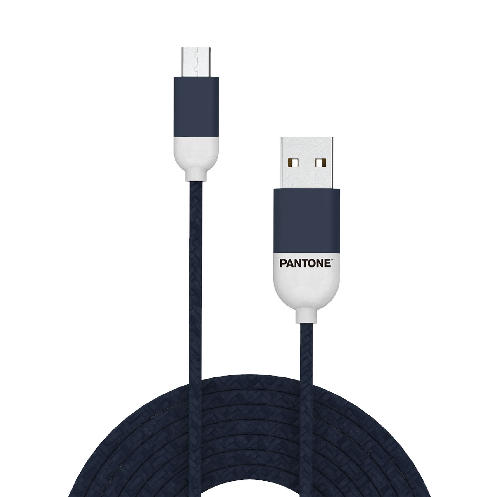 PANTONE mikro USB kabl TAMNO PLAVI