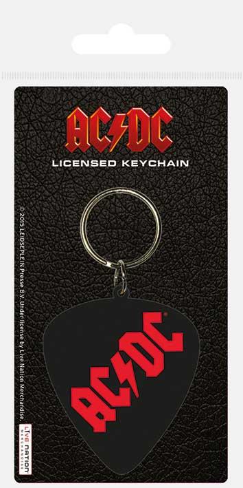 Privezak za ključeve AC/DC PLECTRUM RUBBER