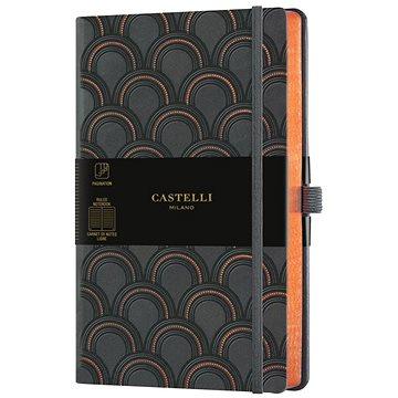 CASTELLI  notes ART DECO COPPER