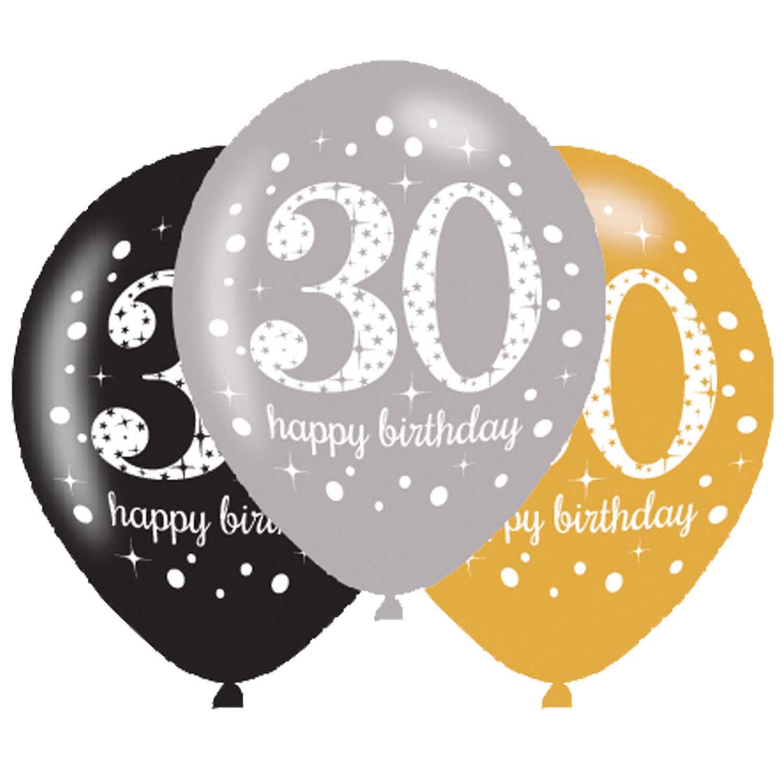 BALONI HAPPY BIRTHDAY 30