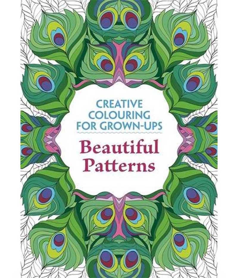 CREATIVE COLOURING BEAUTIFUL PATTERNS