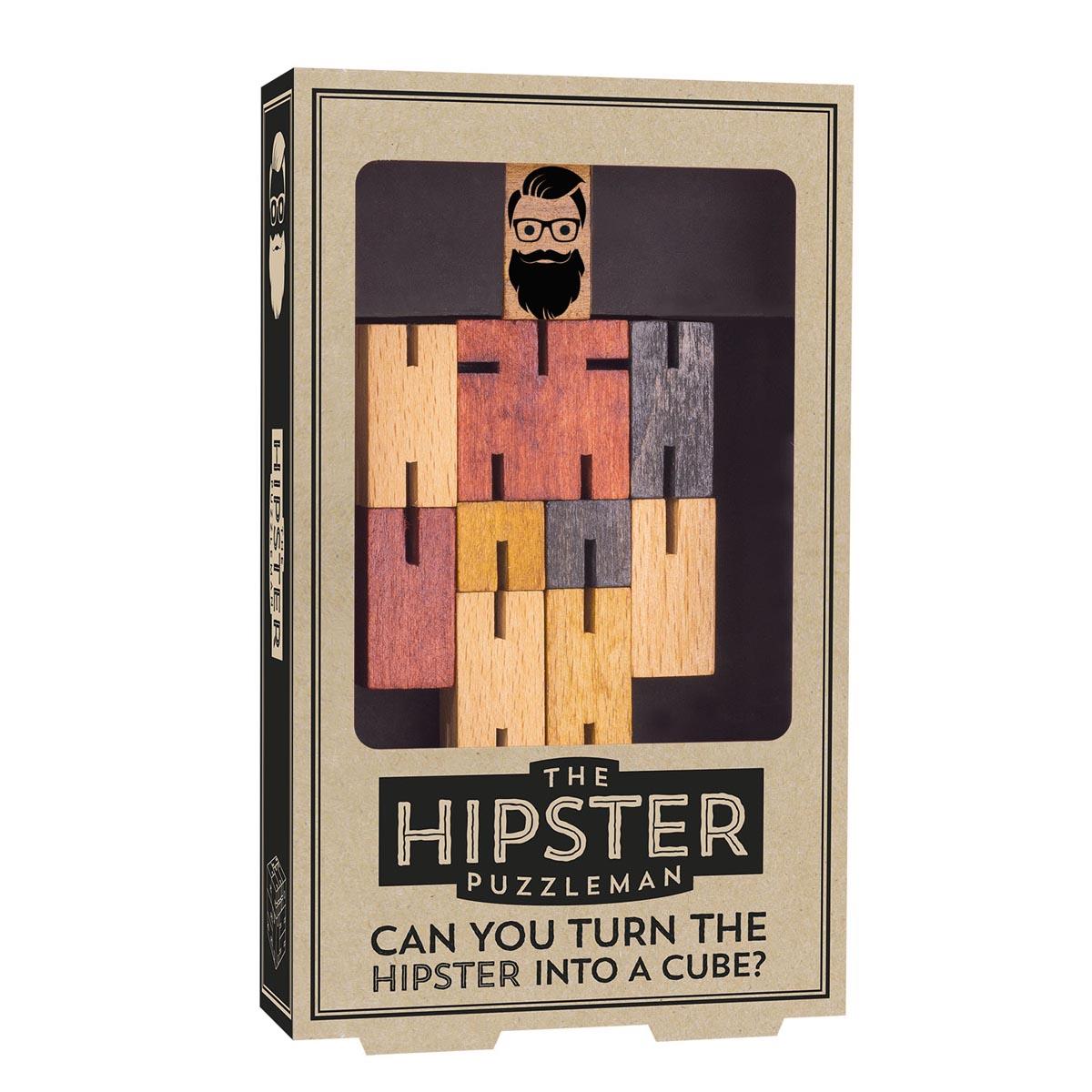 IQ puzzle GENTS HIPSTER/DAPPER (dva različita motiva)