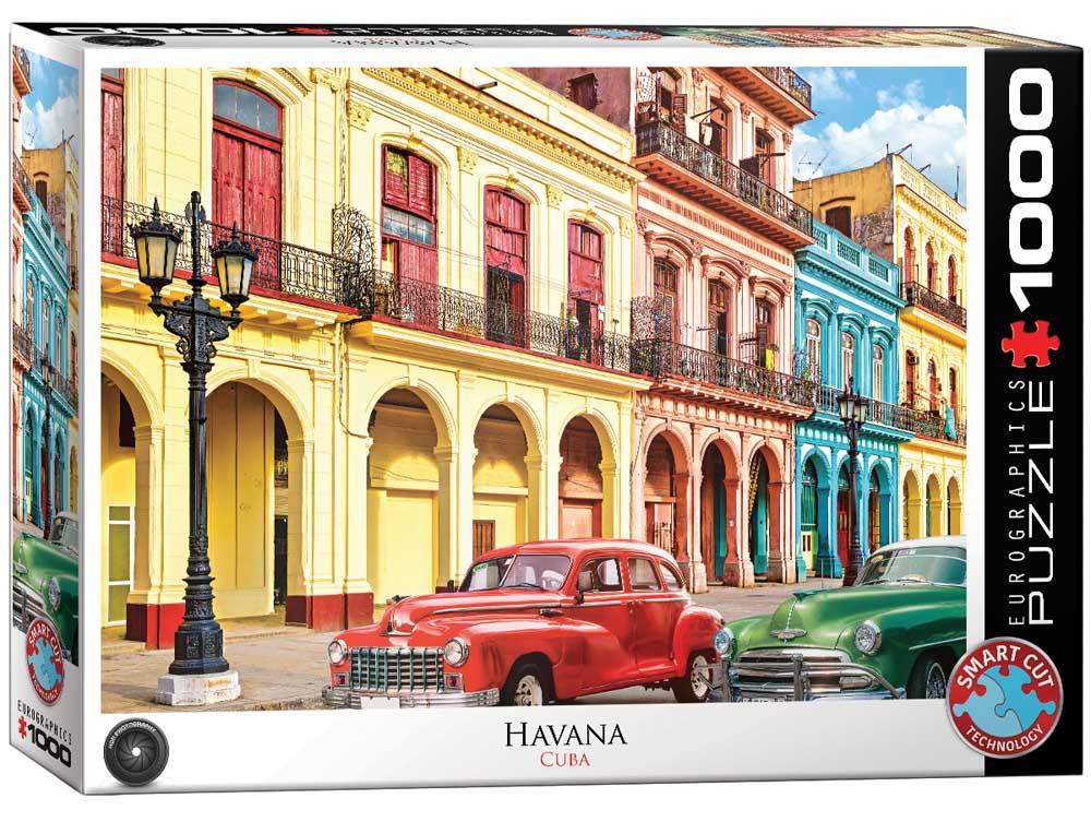 Puzzle LA HAVANA CUBA 1000 kom