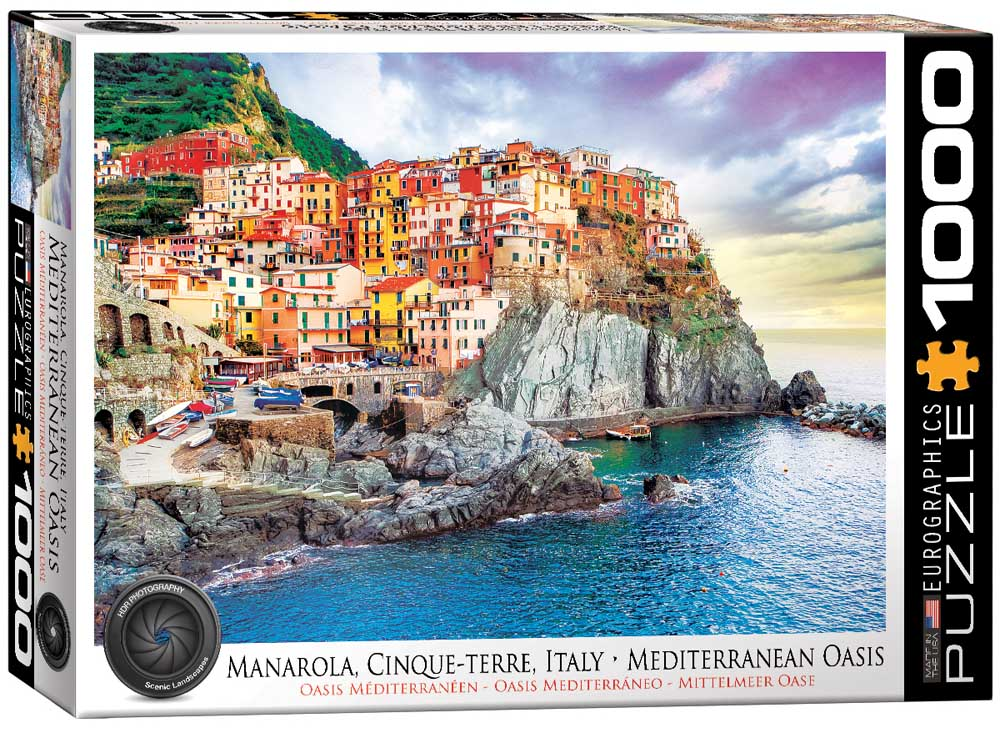 Puzzle MANAROLA CINQUE TERRE ITALY 1000 kom