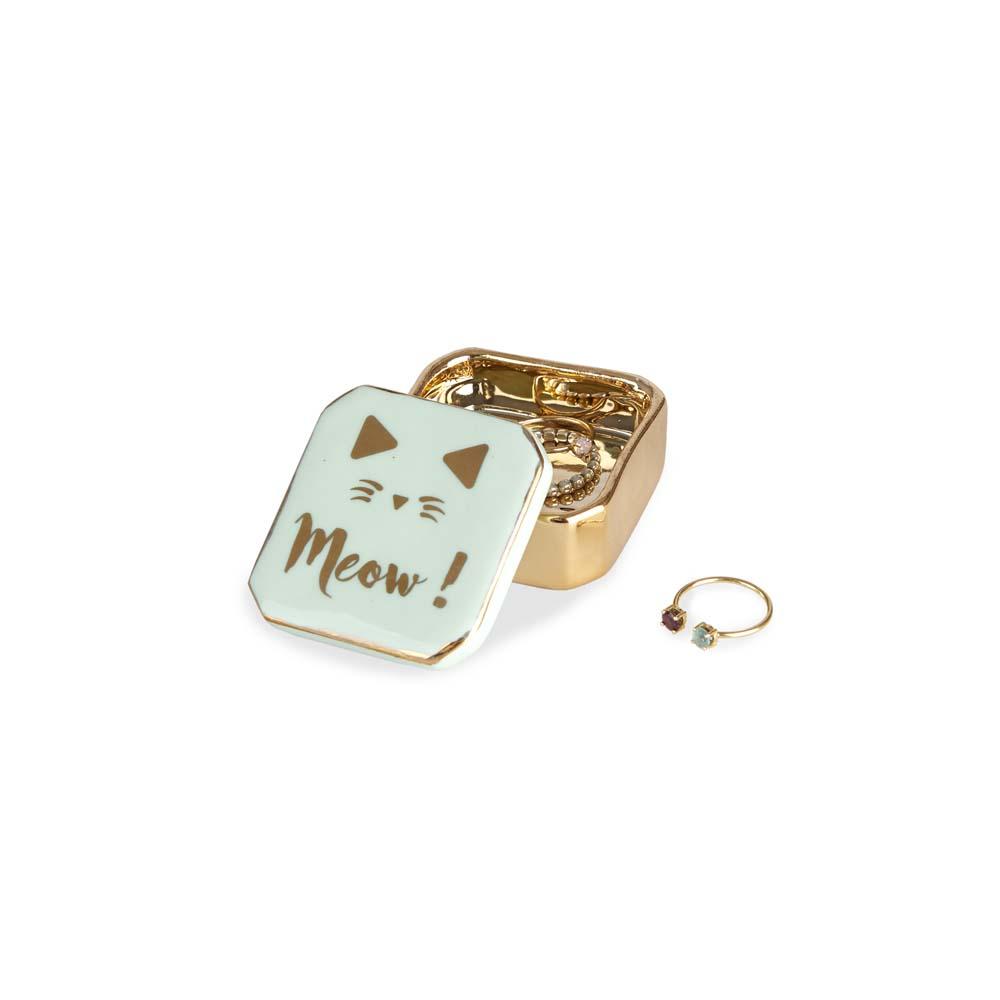 Keramička kutija za nakit  MEOW!