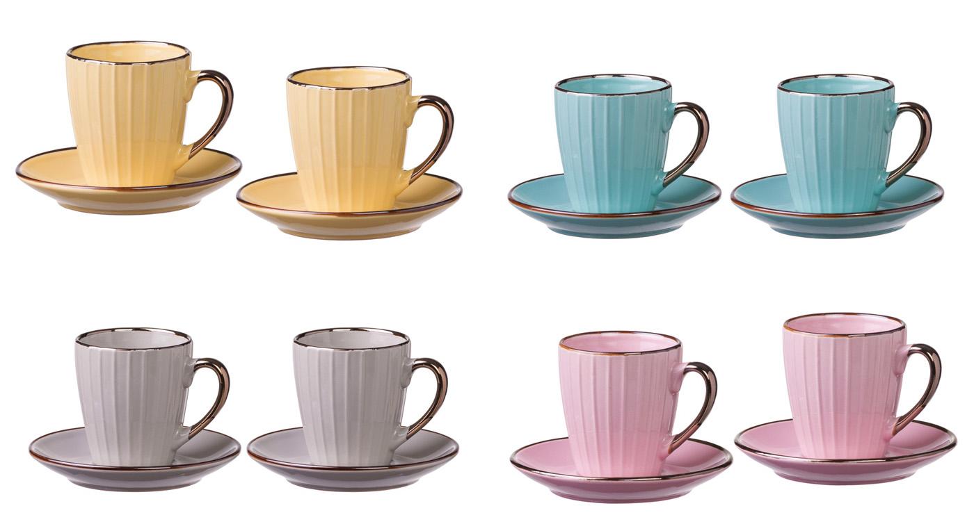 Set dve šoljice za kafu