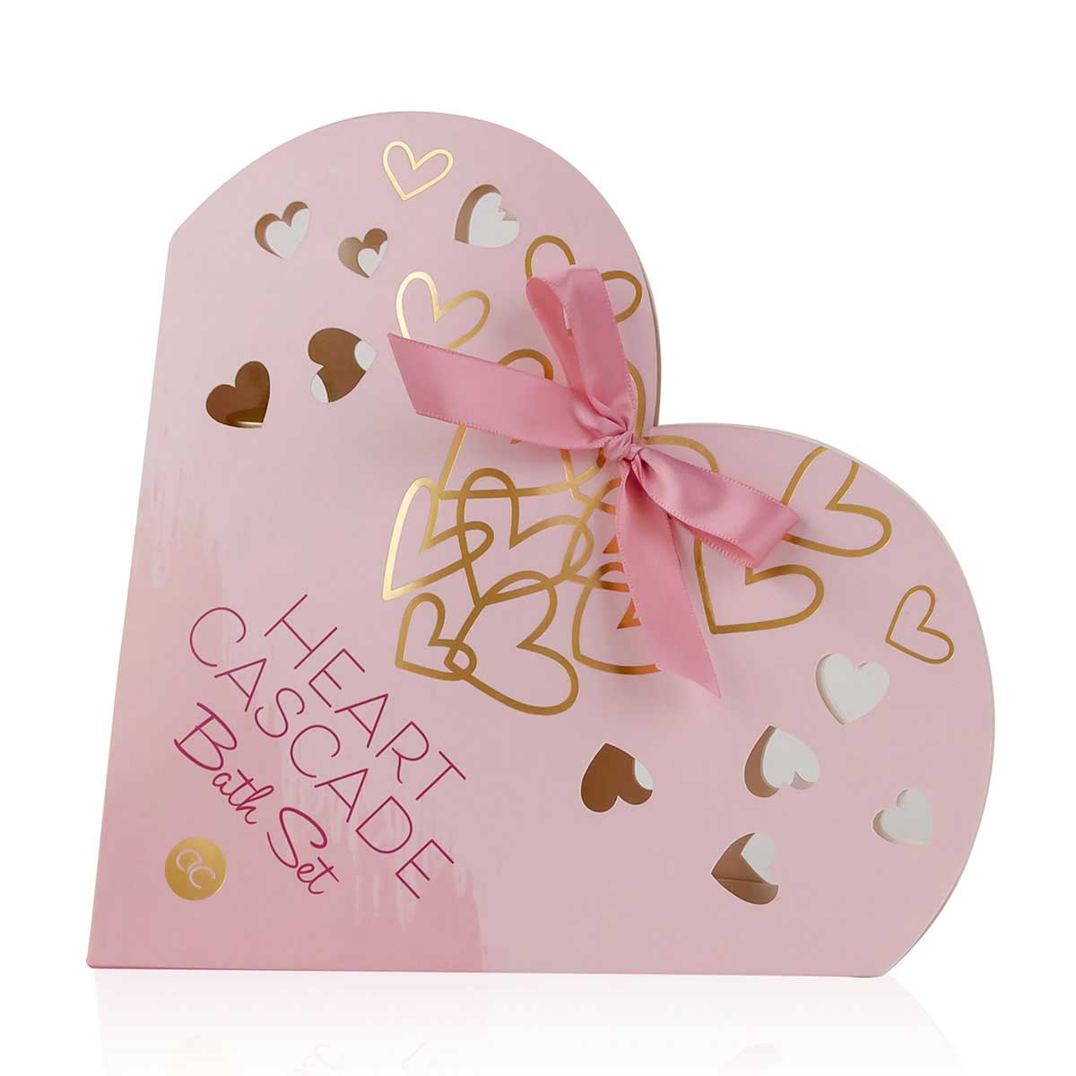 Poklon set negu tela HEART CASCADE u papirnoj poklon kutiji u obliku srca