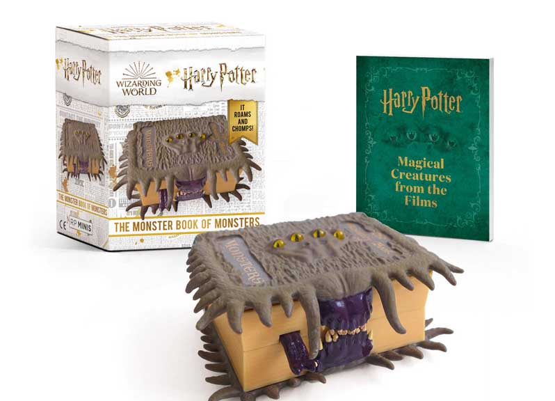 HARRY POTTER BOOK OF MONSTERS