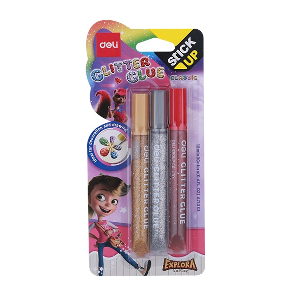 LEPAK GLITTER CLASSIC 12ml 3 boje