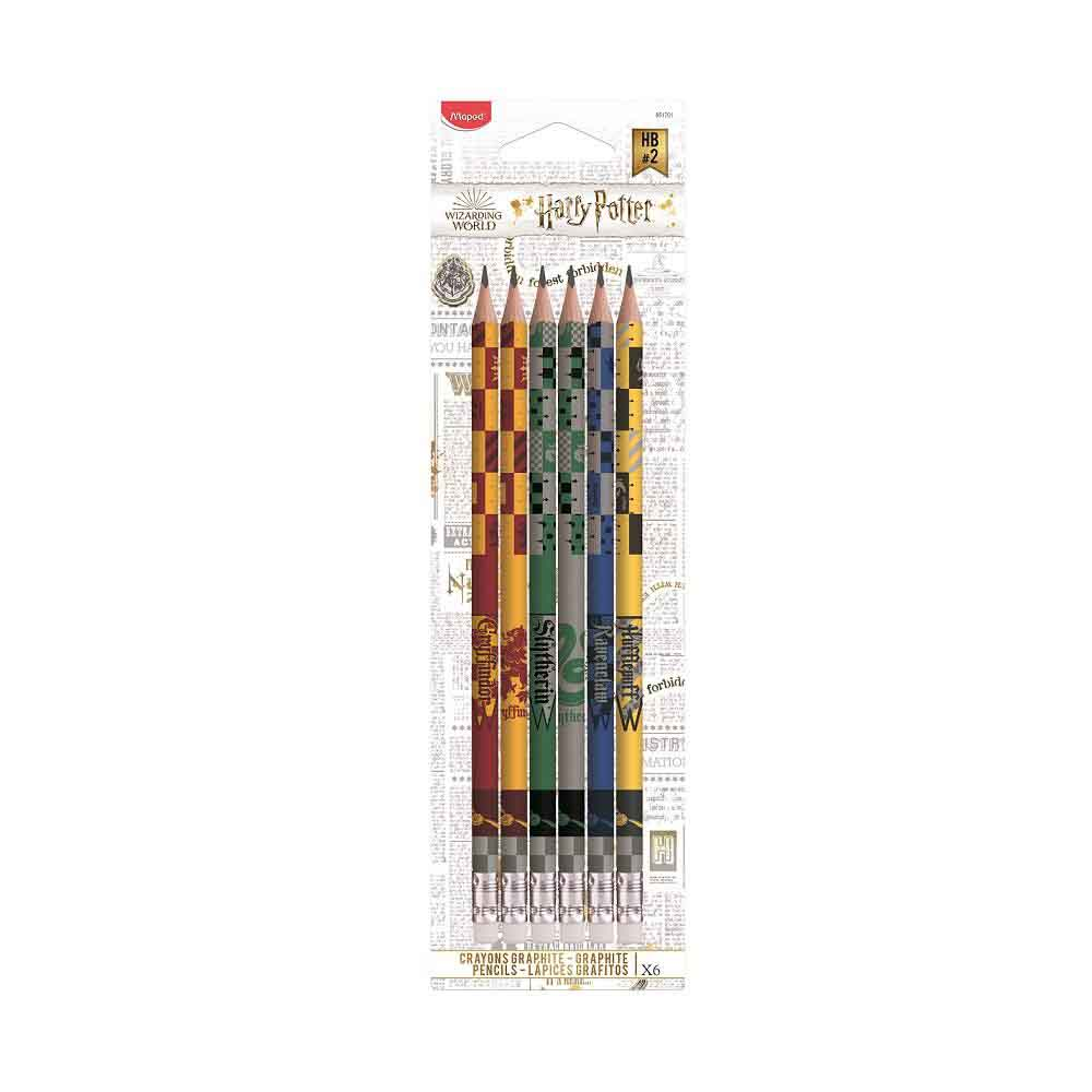 MAPED Grafitna olovka sa gumicom HARRY POTTER 1/6