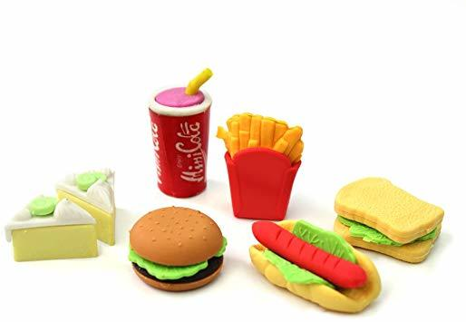 GUMICA BLISTER FAST FOOD 1/6