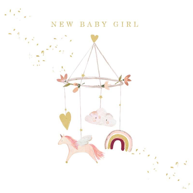 Čestitka BABY GIRL