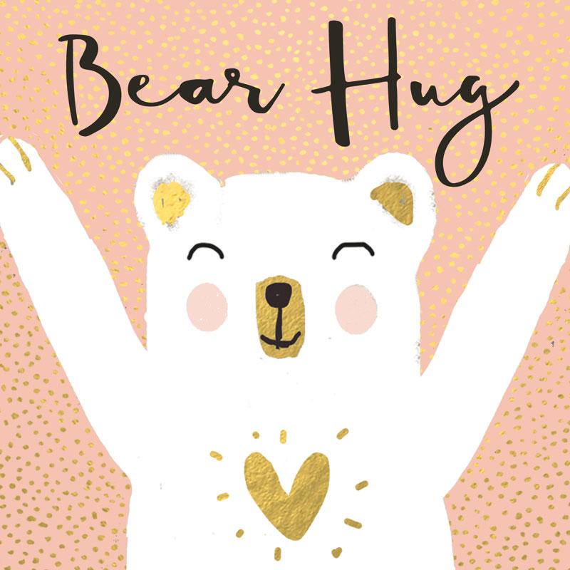 Čestitka  BEAR HUG