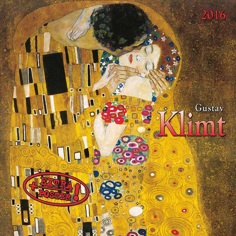 Zidni kalendar GUSTAV KLIMT 2022