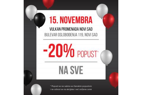 Nova Vulkanova knjižara PROMENADA Novi Sad
